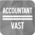 accountant vast-grijs